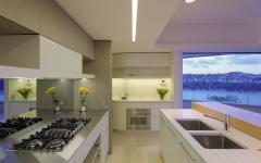 cuisine moderne design lis futuriste