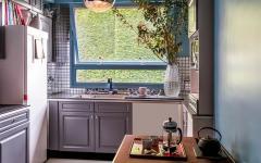 cuisine petite accueillante placards intégrés