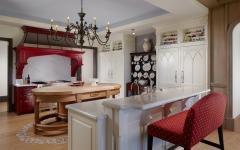 cuisine marbre design conviviale maison de luxe