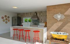 cuisine outdoor estivale design déco frais