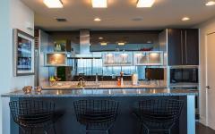 cuisine américaine design déco éclectique moderne
