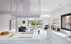 cuisine en blanc design contemporain