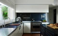 placards cuisines moderne en blanc