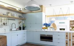 belle cuisine aménagée moderne et rustique