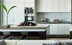 belle cuisine en blanc maison de vacances luxe