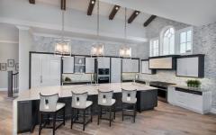cuisine ouverte aménagée design luxe