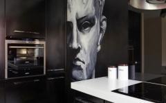 déco maison cuisine en noir