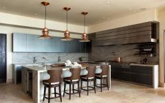 cuisine moderne propriété de luxe
