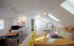 studio aménagé comble maison design neuve