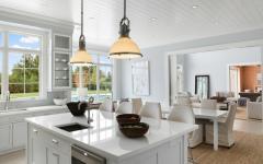 salle à manger cuisine séparée luxe