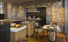 cuisine rustique moderne belle demeure