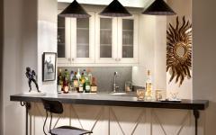 bar à vins maison de luxe refaite à neuf