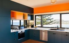 cuisine décoration design couleurs fraiches
