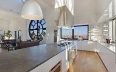 cuisine et son comptoir de luxe