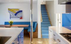 cuisine moderne sous-sol villa de vacances