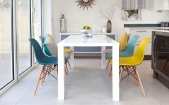 salle à manger chaise eames