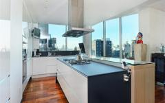 cuisine moderne contemporaine appartement chic