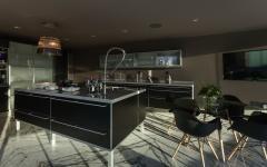 moderne cuisine en noir