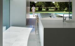 cuisine contemporaine maison futuriste