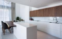 cuisine moderne design futuriste