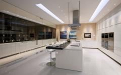 grande cuisine aménagée moderne