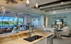cuisine aménagée moderne US belle demeure