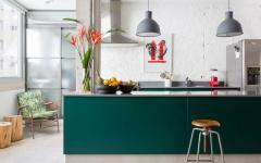 jolie cuisine aménagée couleurs sobres