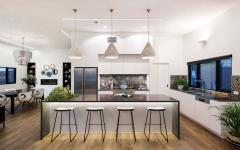 cuisine moderne séjour sympa maison citadine