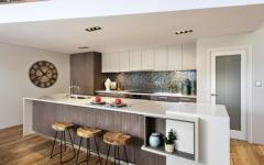 cuisine moderne design chic résidence secondaire