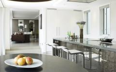 cuisine design blanc luxe