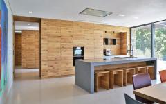 cuisine ouverte placard en bois design luxe