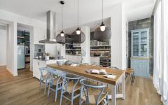 salle à manger et cuisine ambiance conviviale