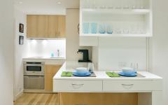 petite cuisine aménagée studio design moderne