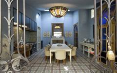 Cuisine et salle à manger belle demeure de prestige à Paris