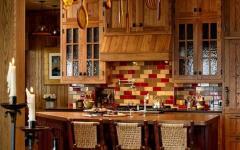 cuisine rustique placards en bois