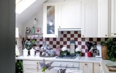 Petite cuisine sous le toit