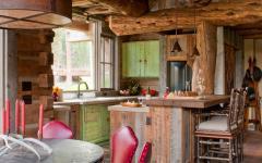 salle à manger cuisine rustique maison de campagne luxe