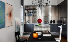 cuisine ouvert design américain