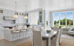 cuisine design luxe en blanc
