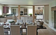 cuisine résidence secondaire campagne