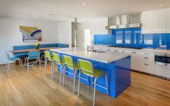 belle cuisine séparée design moderne