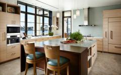 cuisine aménagée résidence de vacances