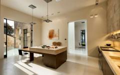 intérieur design moderne contemporain maison de luxe californie