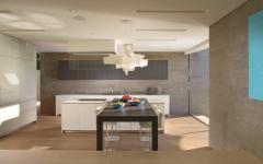 intérieur moderne luxe cuisine