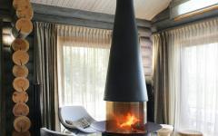 séjour maison de campagne bois