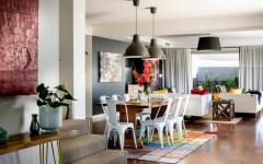 salle à manger maison moderne de famille
