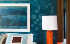 chambre amis déco design coloré