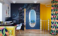Intérieur chambre ado déco couleurs