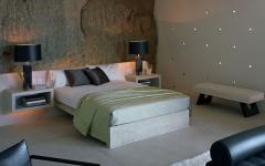 chambre à coucher ameublement minimaliste simple