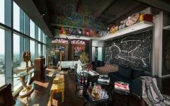 séjour salon décoration éclectique